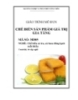 Giáo trình Chế biến sản phẩm giá trị gia tăng - MĐ05: Chế biến cá tra, cá basa đông lạnh xuất khẩu
