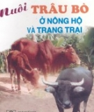 Ebook Nuôi trâu bò ở nông hộ và trang trại - TS. Phùng Quốc Quảng