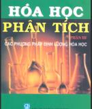 Ebook Hóa phân tích - Phần 3: Các phương pháp định lượng Hóa học - Nguyễn Tinh Dung