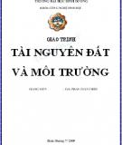 Giáo trình Tài nguyên đất và môi trường - ThS. Phan Tuấn Triều