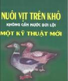 Ebook Nuôi vịt trên khô không cần nước bơi lội một kỹ thuật mới - TS. Nguyễn Đức Trọng (chủ biên)