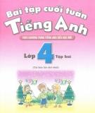 Ebook Bài tập cuối tuần Tiếng Anh lớp 4: Tập 2 - NXB Giáo dục