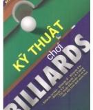Ebook Kỹ thuật chơi Billiards  - NXB Thề dục Thể thao