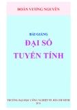 Ebook Bài giảng Đại số tuyến tính - Đoàn Vương Nguyên