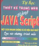 Ebook Tự học thiết kế trang Web bằng Java Script - Đậu Quang Tuấn