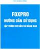 Ebook Foxpro: Hướng dẫn sử dụng lập trình cơ bản và nâng cao - KS. Hoàng Hồng