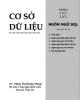 Ebook Cơ sở dữ liệu: Phần 2 - GV. Phạm Thị Hoàng Nhung