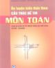 Ebook Ôn luyện kiến thức theo cấu trúc đề thi môn Toán - NXB Giáo dục Việt Nam