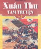 Ebook Xuân Thu tam truyện: Tập 2 - Khổng Tử
