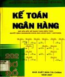 Ebook 202 sơ đồ kế toán Ngân hàng: Phần 1 - TS. Trương Thị Hồng