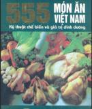 Ebook 555 món ăn Việt Nam - ĐH. Thương mại Hà Nội