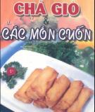 Ebook Chả giò và các món cuốn - Quỳnh Hương