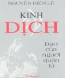 Ebook Kinh Dịch - Đạo của người quân tử: Phần 1 - Nguyễn Hiến Lê