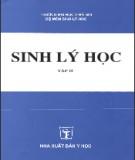 Ebook Sinh lý học (Tập 2) - NXB Y học