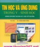 Ebook Tin học và ứng dụng trong y - sinh học - TS. Hoàng Minh Hằng (chủ biên)