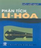 Ebook Phân tích Lí - Hóa - GS.TS. Hồ Viết Quý