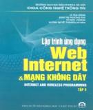 Ebook Lập trình ứng dụng Web, Internet và mạng không dây (Tập 2): Phần 1 - Huỳnh Quyết Thắng (chủ biên)