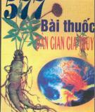 Ebook 577 Bài thuốc dân gian gia truyền - Âu Anh Khâm