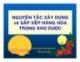 Bài giảng Nguyên tắc xây dựng và sắp xếp hàng hóa trong kho dược - ThS. Lương Thanh Long