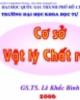 Cơ sở Vật lý chất rắn - GS.TS Lê Khắc Bình