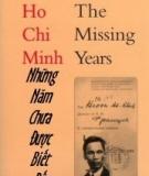 Ebook Hồ Chí Minh - Những năm chưa được biết đến - Diên Vỹ & Hoài An (Dịch gia)