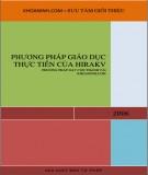 Ebook Phương pháp giáo dục thực tiễn của Hirakv: Phần 1 - NXB Tư pháp