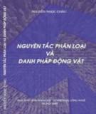 Ebook Nguyên tắc phân loại và danh pháp động vật: Phần 1 - Nguyễn Ngọc Châu