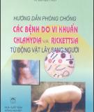Ebook Hướng dẫn phòng chống các bệnh do vi khuẩn, Chlamydia và Rickettsia từ động vật lây sang người: Phần 1 - NXB Nông nghiệp