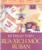 Ebook Kỹ thuật thêu rua-xích móc ruban: Phần 3 - NXB Phụ nữ