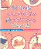 Ebook Kỹ thuật làm đồ chơi & vật dụng bằng vải: Phần 1 - Trần Mỹ Linh