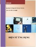 Điện tử ứng dụng - THS. Nguyễn Văn Hiệp.