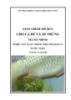 Giáo trình Cho cá đẻ và ấp trứng - MĐ04: Sản xuất giống một số loài cá nước ngọt
