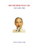 Ebook Hồ Chí Minh Toàn tập - Tập 11