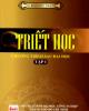 Ebook Triết học: Chương trình sau đại học (Tập 1): Phần 1 - TS. Đào Duy Thanh