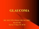 Bài giảng Glaucoma - BS. Nguyễn Phạm Trung Hiếu