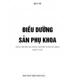 Giáo trình Điều dưỡng Sản phụ khoa: Phần 1 - ThS. Lê Thanh Tùng (chủ biên)