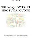 Ebook Trung Quốc Triết học sử đại cương: Phần 2 - Hồ Thích