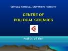 Bài giảng Triết học - Prof.Dr. Vũ Tình