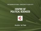 Bài giảng Lịch sử triết học Trung Quốc - Prof.Dr. Vũ Tình