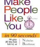 Ebook 90 giây để thu hút bất kỳ ai - Nicholas Boothman