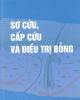 Ebook Sơ cứu, cấp cứu và điều trị bỏng: Phần 1 - PGS.TS. Lê Văn Năm (chủ biên)
