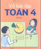 Ebook Vở bài tập Toán lớp 4 (Tập 2): Phần 2 - NXB Giáo dục Việt Nam