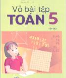 Ebook Vở bài tập Toán lớp 5 (Tập 1): Phần 2 - NXB Giáo dục Việt Nam