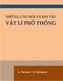 Ebook Những câu hỏi và bài tâp Vật lí phổ thông - L.Tarasov & A.Tarasova