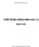 Ebook Thiết kế bài giảng hình học 10 Nâng cao: Tập 2 - Trần Vinh (chủ biên)