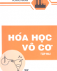 Ebook Hóa vô cơ: Tập 2 - Hoàng Nhâm