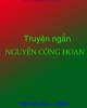 Ebook Truyện ngắn Nguyễn Công Hoan - NXB. Văn học