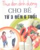 Ebook Thực đơn dinh dưỡng cho bé từ 3 đến 6 tuổi - Lan Anh
