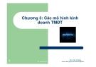 Bài giảng Thương mại điện tử: Chương 3 - ThS. Trần Trí Dũng