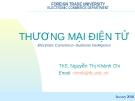 Bài giảng Thương mại điện tử: Chapter 2 - ThS. Nguyễn Thị Khánh Chi